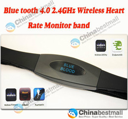 Wholesale Bluetooth GHZ wireless Heart rate monitor CHest strap band For Smartphone Fitness Healthy Living