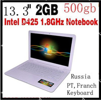 Wholesale disscount shipping inch laptop computer PC netbook black and white aviliable