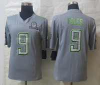 Wholesale Eagles Nick Foles new season american football all star jerseys gray limited edition mens football jerseys best sports jerseys