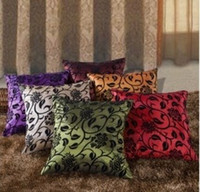 wholesale cushion covers - Cheapest price TAFFETA Rose THROW PILLOW CASE CUSHION COVERS