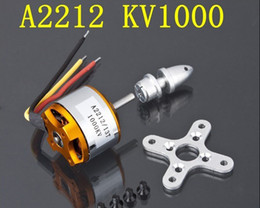 Wholesale hot selling A2212 Brushless Motor KV H366 for RC Aircraft Plane Multi copter Brushless Outrunner Motor G107