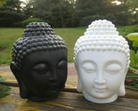 Wholesale home decor fragrance lamps buddha head design home decoration fragrance bottle make home more beautfiul