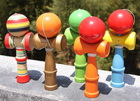 Wholesale Fashion Hot Big size HOT Funny Bahama Traditional Wood Game Skill Kendama Ball Children Educational Toy