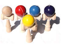 Wholesale New Arrive Big size HOT Funny Bahama Traditional Wood Game Skill Kendama Ball Children Educational Toy