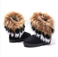 Wholesale Fashion Womens warm winter Fur Furry Snow Boots