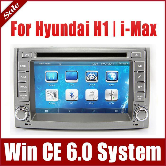 2 din car dvd player gps navigation for hyundai h1 h 1. Black Bedroom Furniture Sets. Home Design Ideas