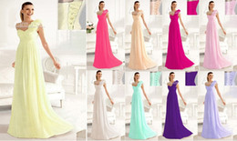 Simple Style New Sheath Column One Shoulder Lace-up Back Floor-length Chiffon Bridesmaid Dress Wedding Party Dress