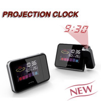 Digital Other  812 Digital LED Projection Alarm Clock Snooze Weather Station Multi-function Colorful LCD Color Display Backlit Screen Creative Desktop 1pcs