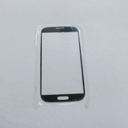 Wholesale Front Outer Touch Screen Glass Lens Panel spare Parts Replacement For Samsung Galaxy S4 i9500