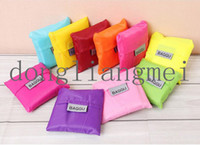 Wholesale 100pc Eco friendly shopping bag folding storage bag grocery bags J118