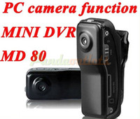 Wholesale Hot Selling DVR Sports Video Camera MD80 Mini DVR Camera amp Mini DV