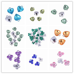 Wholesale Cut Surface Loose Beads DIY Acrylic Beads With A Hole Fit Necklace Charms Jewelry Craft Making AST