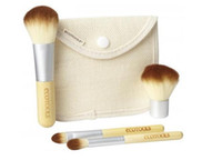 2014 New 4pcs EcoTools Bamboo Makeup Brushes Cosmetic Kit Po...