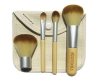 4pcs EcoTools Bamboo Makeup Brushes Cosmetic Kit Powder Eyeb...