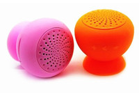 Wholesale new Cute Suck Wireless Bluetooth mini Speaker Micro USB Mashroom Portable C395