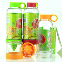 Wholesale New Creative Fruit Juice Cup Citrus Energy Kettle Lemon Cups ml Mug Drinking Bottles