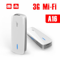 Wholesale New Wireless Router MIFI G HAME A16 Mbps mAh Li polymer Battery support wi fi hotspot repeater function WCDMA MHz GSM