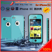 Wholesale 2014 NEW AAAAA Waterproof Case for iphone C G G s Samsung Galaxy S3 S4 Note2 Note3 iTouch