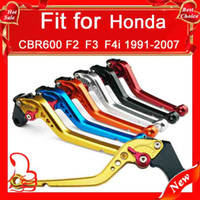 Wholesale Hot sale Motorcycle long or shorty lever set for Honda CBR600 F2 F3 F4i