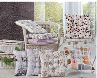 Frete grátis 40x40cm Moda Xadrez Almofadas do Sofá de decoração de casa de Poli tecido almofada de jantar / Escritório cadeira almofada de assento de carro em Tampa
