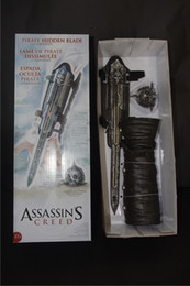 Wholesale Cosplay Figures of Assassins Creed Hidden Blade weapon Brotherhood Cosplay weapons