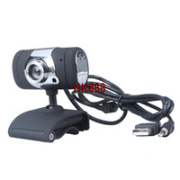 Wholesale USB M HD Webcam Camera Web Cam with Microphone MIC For Computer PC Laptop Black