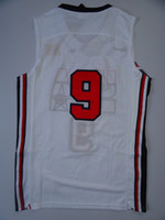 Wholesale 2014 new USA Olympic Team Dream Jersey white Throwback Retro Basketball Jerseys