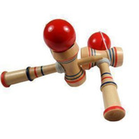 Wholesale Baby Game Funny Bahama Traditional Wooden Game Skill Kendama Ball Children Educational Toy L554