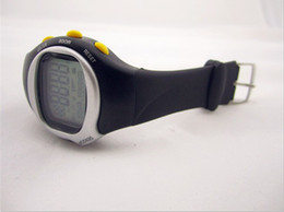 Wholesale 1pcs Pulse Heart Rate Monitor Calories Counter Fitness Watch by DHL