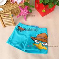 Boy Swim Trunks 2-9T boy swimming wear baby boy swimming shorts cartoon boy swimming trunks boxer swimming trunks oy summer beach cloth