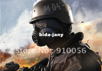 Party Masks China (Mainland)  Free shipping ONE Piece Brand New NATO M9 style Military Gas Mask And One SEALED Filters Canisters
