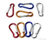 aluminum locks - Carabiner Durable Climbing Hook Aluminum Camping Outdoorsport Accessory