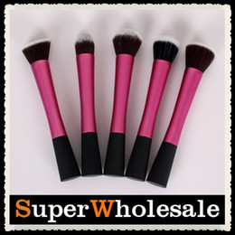 Wholesale 5 High Quality Professional Makeup Cosmetic Brush Set Kit Case Colors