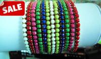 Wholesale Luxury beads bracelets tennis unisex fluorescent color bracelet wristband bracelets anklets vervel foot rings charm jewelry gifts
