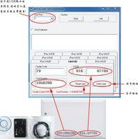 Wholesale New USB khz RFID Reader Writer ID card Copier duplicate copier tag KeyFob COPY EM4100 EM4102 Proximity T5577