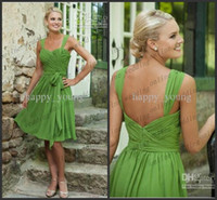 Reference Images Chiffon Modern Custom Made 2014 Free Shipping 80% off Simple Short Bridesmaid Dresses Sweetheart Lime Green Chiffon Prom Dresses PM842
