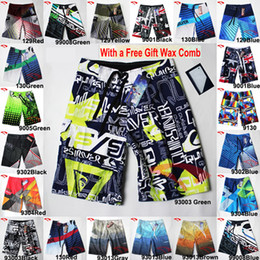 Wholesale Brand Men s Casual Board Shorts For Surf Trunks Boxers Swimwear with Wax Comb Twin Micro Fiber Boardshorts Beach Short S to Plus Size