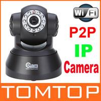 Wholesale P2P WIFI IR LED Way Audio Wireless IP Camera Night vision m k Pixels CMOS CCTV Webcam US EU Plug S134