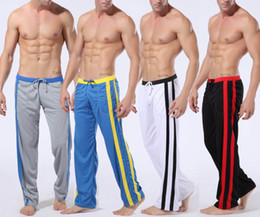 Wholesale Details about New Men s Low Rise Sport Sweat Pants Gym Athletic Slim Fit Lounge Trousers