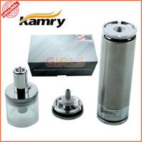 Set Series e-juice - E cigarette K103 Kit Huge Vapor Electronic Cigarettes Mech Mod ml E Juice K103 Atomizer V mAh Battery CE ROHS With Gift Box