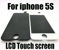 For Apple iPhone   Replacement Glass Touch Screen Digitizer LCD Assembly with Frame For iPhone 5S