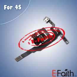 Wholesale For iPhone S Black Headphone Audio Jack Power Volume Switch Flex Cable Replacement