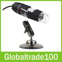 Wholesale New Arrive USB Digital Microscopes Magnifier MP Times LED Maintenance Tools