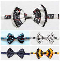 Wholesale 10 X Cat Adjustable Collar Bowtie Pet Dog Necktie Bow Tie