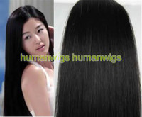 Wholesale 20 quot x quot Clips In On Remy Human Hair Extension b g set sets custom made
