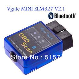 Wholesale Promotion Automotive Diagnostic Tester Mini Bluetooth ELM327 Vgate OBD Scaner