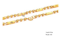 Wholesale 100 gold necklace long cm weight g width mm