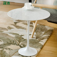 fiberglass Coffee Tables No Scandinavian wood furniture and stylish modern minimalist white marble side tulip few corner a few small coffee table CJ006110038