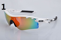 Wholesale 2013 sunglasses new Men s Cycling Sport Sunglass Path Sport eyewear colors Lens with box set ok sunglasses