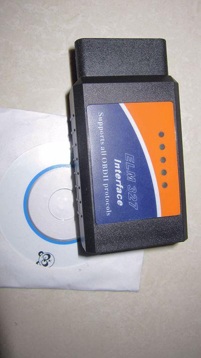 Buy 1Bluetooth ELM 32/BT ELM327/ OBD2 327 CAN-BUS/High quality/Car diagnostic cable v1.4 v1.5